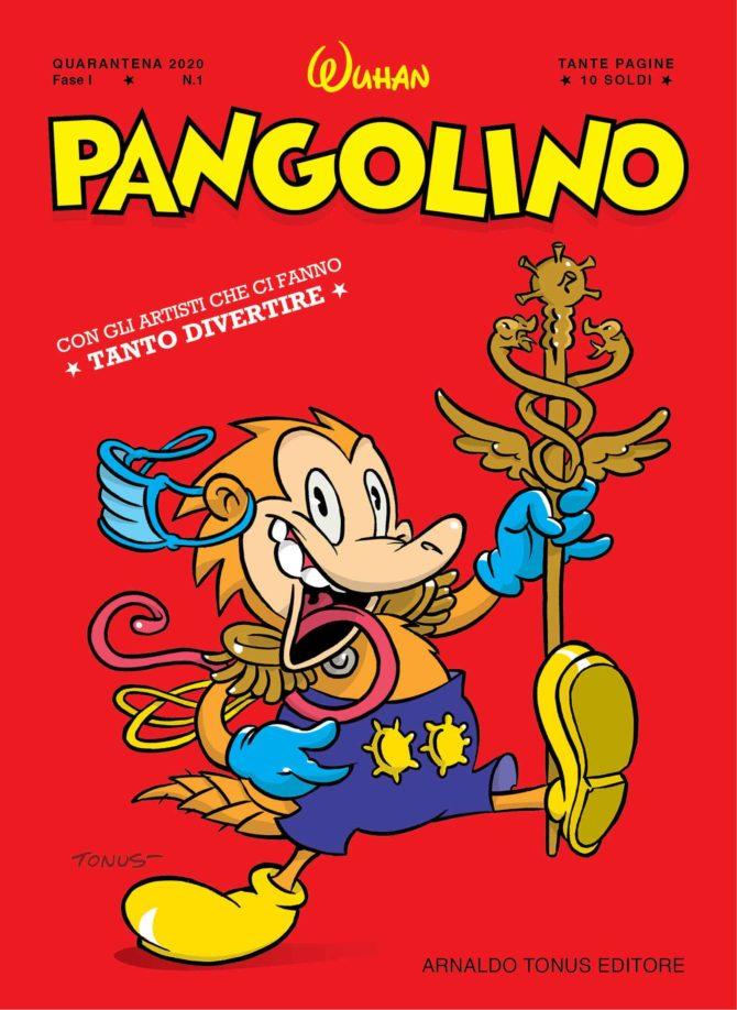 Pangolino copertina