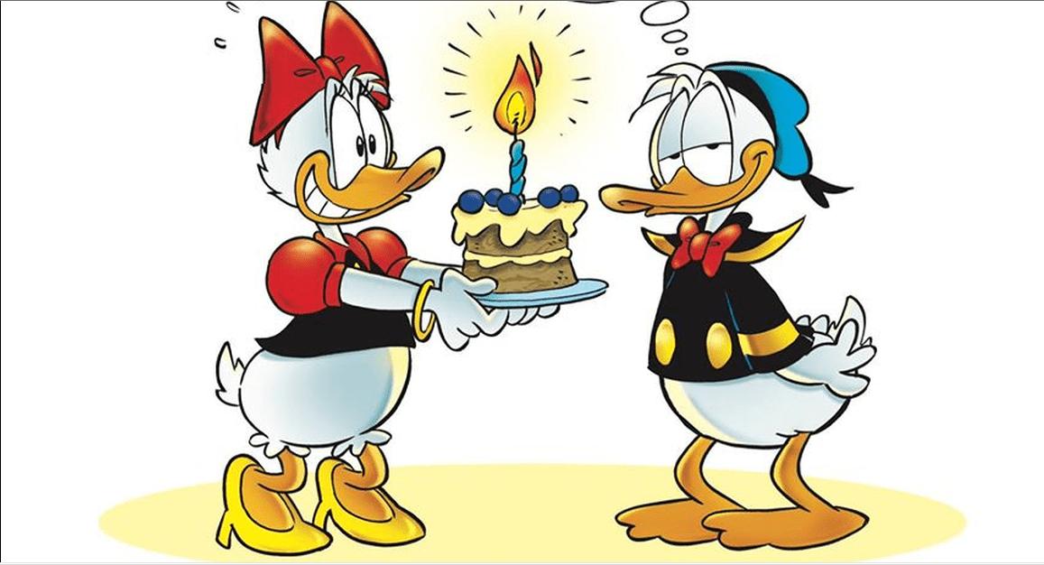 Buon compleanno Paperino: i vostri auguri al nostro beniamino piumato