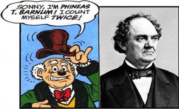 Phineas T. Barnum nella Saga