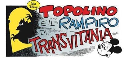 Storie di Topolino sui vampiri: Topolino e il rampiro di Transvitania