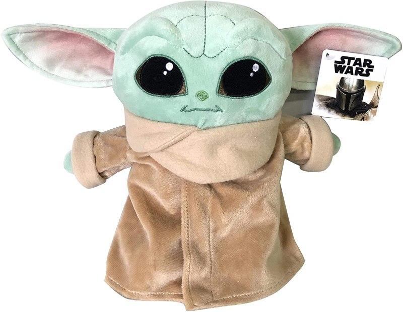 Il peluche di Baby Yoda