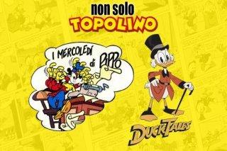 Non Solo Topolino: a Ottobre tornano Ducktales e i Mercoledì di Pippo
