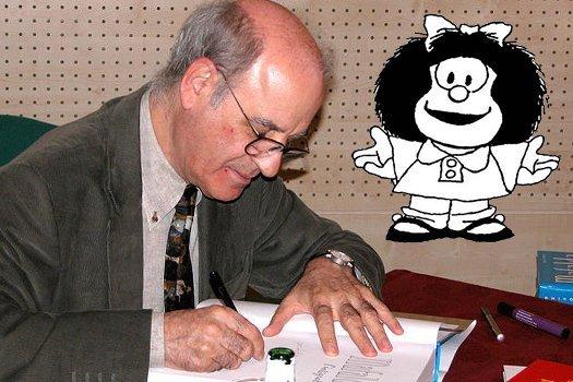 Addio al fumettista argentino Quino, padre di Mafalda