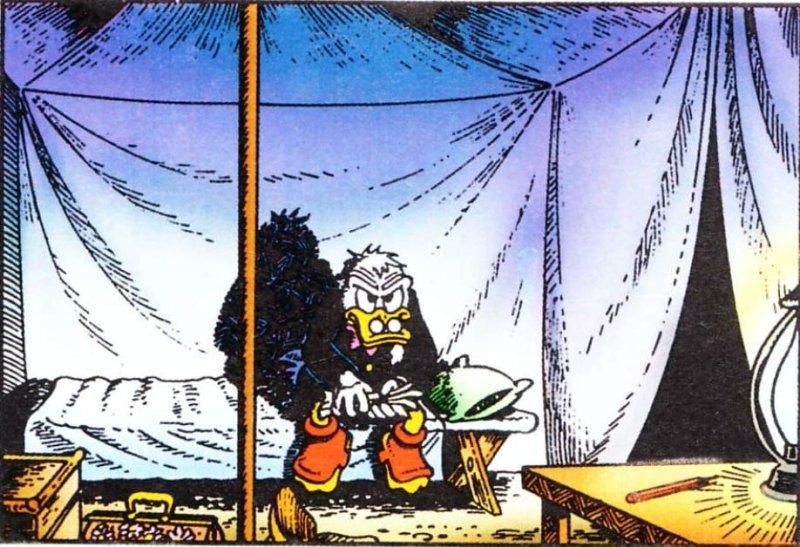 La solitudine di Zio Paperone