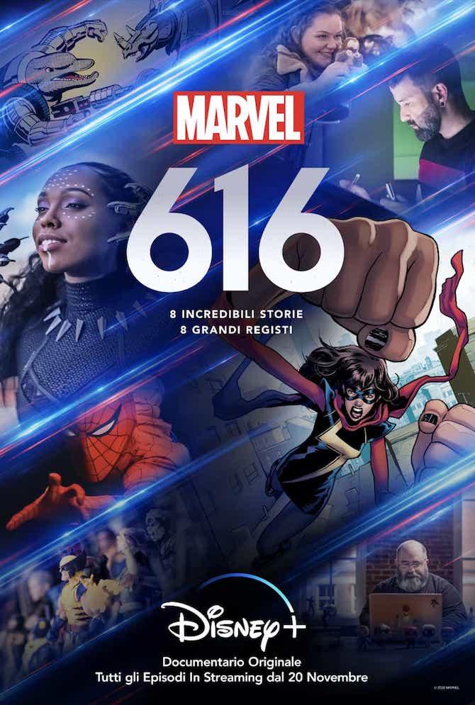 La locandina di Marvel 616