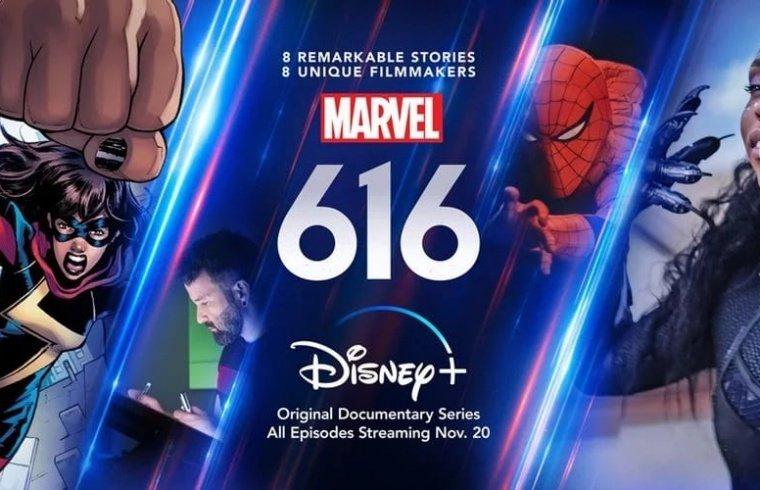 Il banner Disney+ di Marvel 616