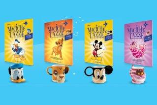 Le Magiche Tazze Disney compaiono in edicola, Paperino a 3,99 euro