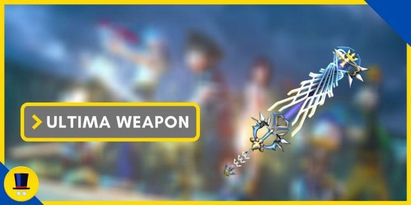 ultima weapon keyblade kingdom hearts 2