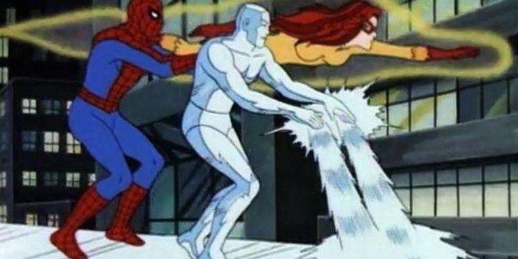 spiderman fantastici amici