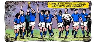 Calciatori su Topolino - Nazionale 1982