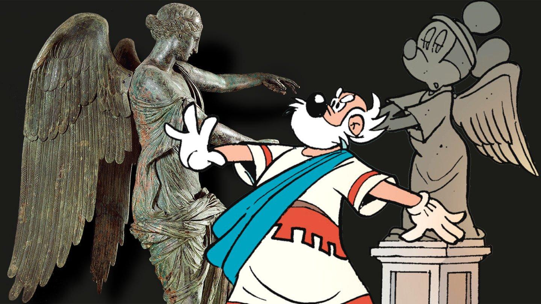 Topolino e la Minni Alata, in edicola l'omaggio alla Vittoria di Brescia