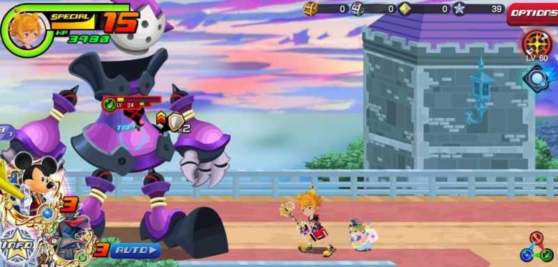 Kingdom Hearts Union Cross boss