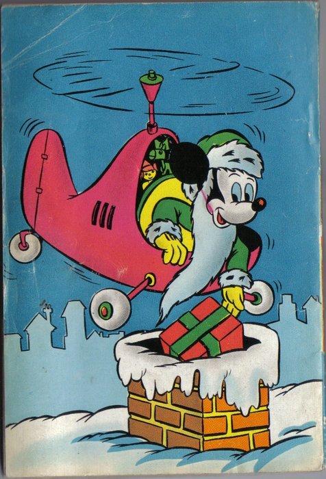 retro copertina di natale topolino 105