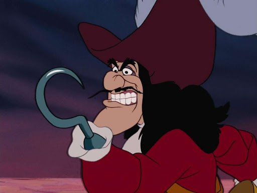 cattivi comici Disney Uncino