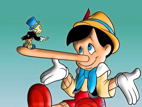 Pinocchio naso lungo
