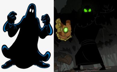 Macchia nera nuovo Ducktales
