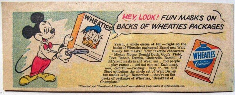 topolino fumetti wheaties 1951