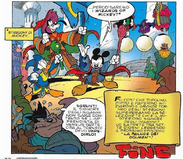 nasce il gruppo dei Wizards of Mickey