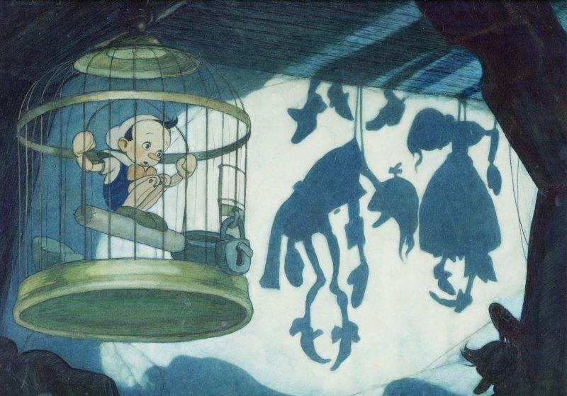 Pinocchio gabbia