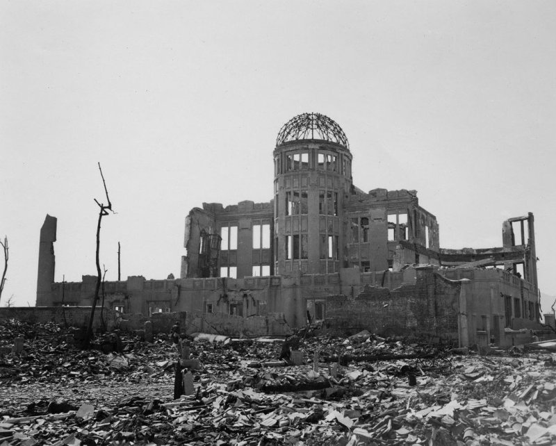 cupola della bomba atomica hiroshima