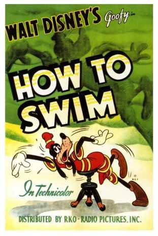 Impariamo a nuotare, locandina.