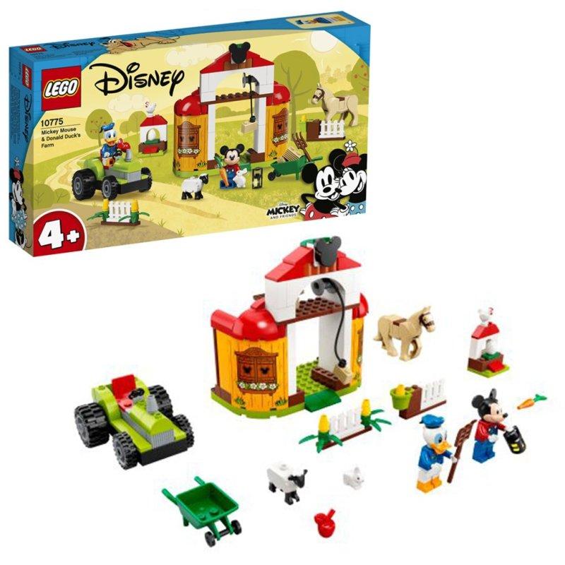 LEGO Disney Mickey and Friends - Fattoria di Topolino e Paperino