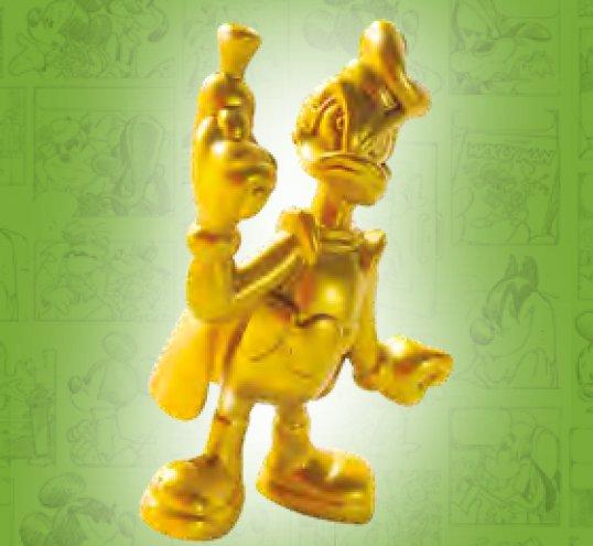 paperinik gold statuetta 3d
