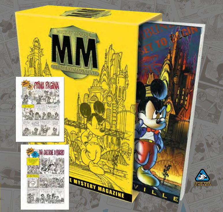 mmmm mickey mouse mystery magazine cofanetto giugno 2022