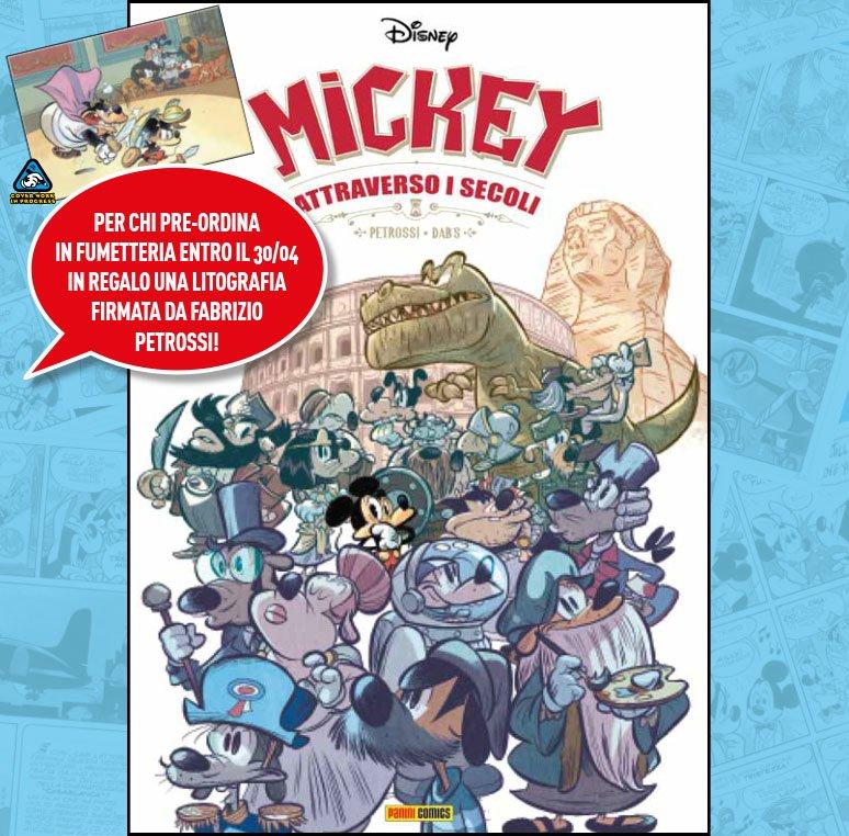 mickey attraverso i secoli non solo topolino giugno