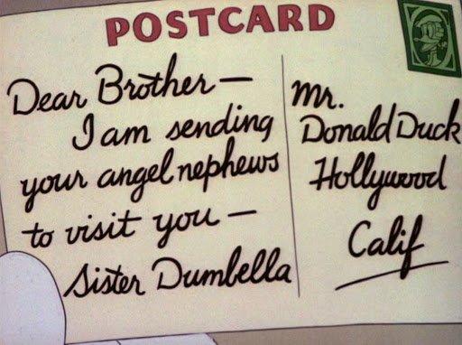 lettera della duck