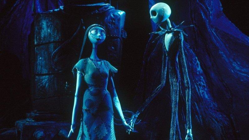 Sally e Jack Nightmare before christmas