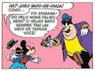 Il nome di Gambadilegno in  portoghese