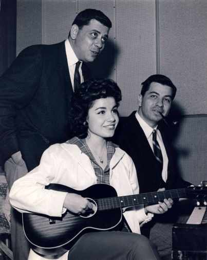 Fratelli Sherman insieme a Annette Funicello.