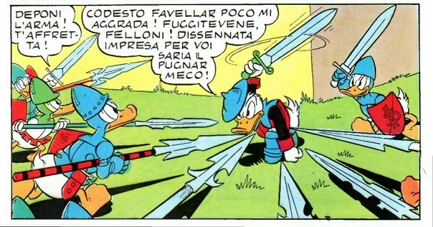 Paperino-il-Paladino-Bottaro