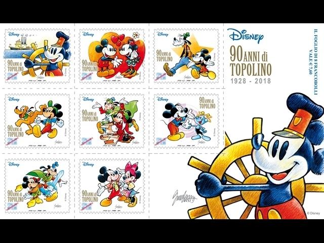 francobolli topolino