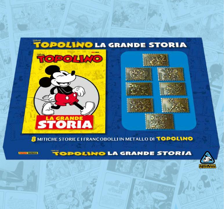 topolino ottobre francobolli la grande storia