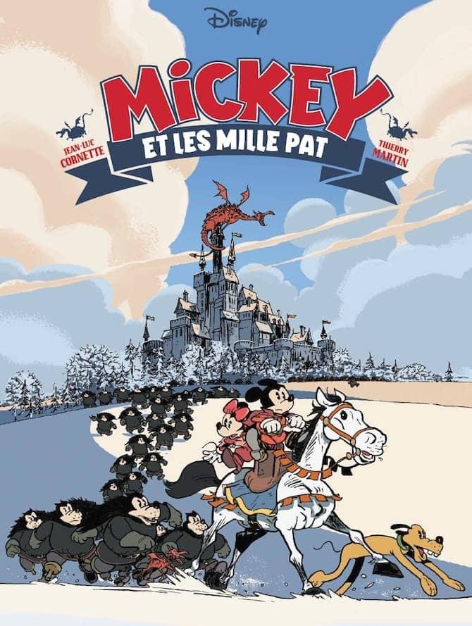 mickey et les mille pat glénat