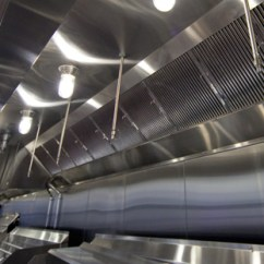 Commercial Kitchen Exhaust System Design Window Treatments Above Sink Ventilation Direct :: Home