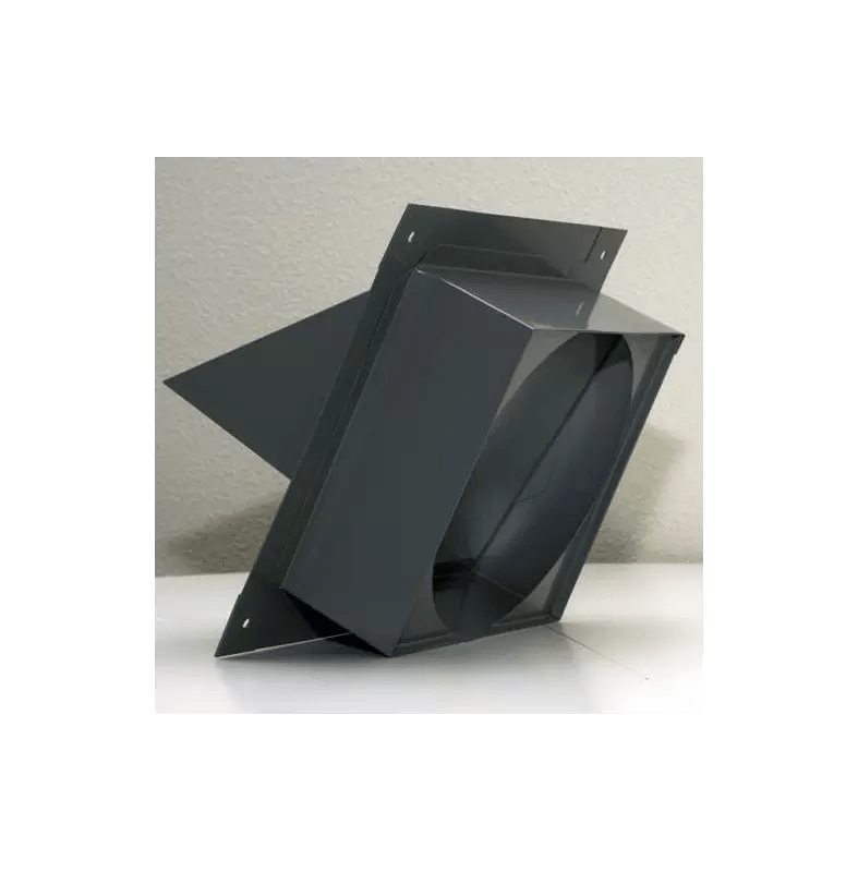 VentAHood VP528 NA 8 x 8 x 85 Wall Louver for VentAHood Range Hoods  VentingDirectcom