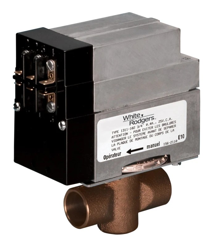 taco sentry zone valve wiring diagram gfci circuit breaker whiterodgers 1361102 2 wire hydronic for 34in