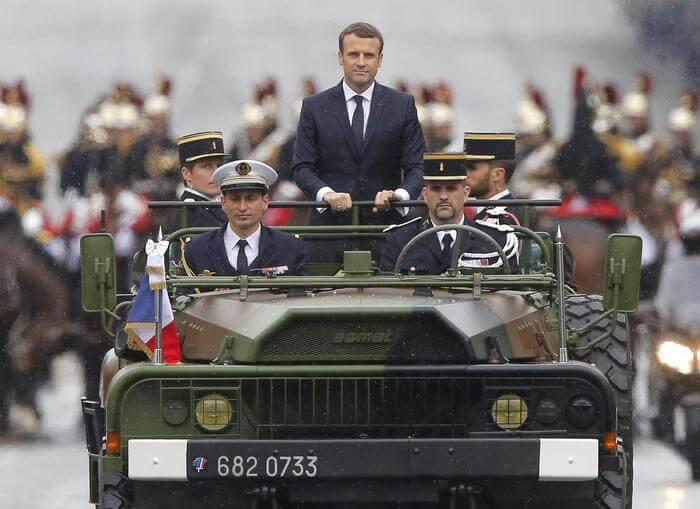 Risultati immagini per parigi grande guerra macron cerimonia