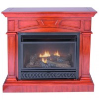 UNVENTED NATURAL GAS FIREPLACE LOGS  Fireplaces