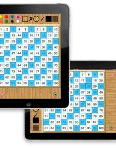Screen also hands on math interactive hundred chart ipad app rh venturaes