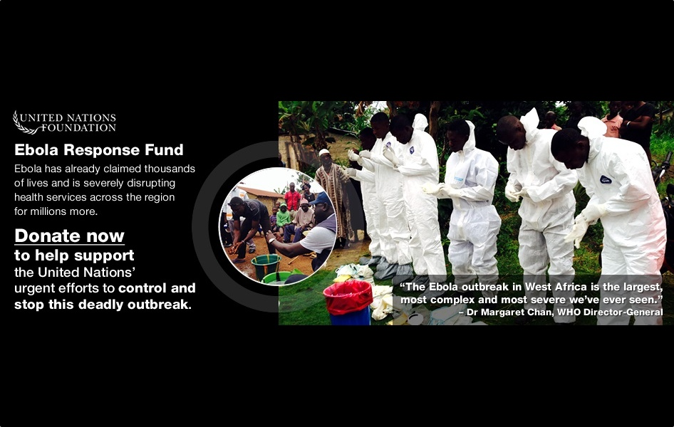Urgent! Please Donate to Ebola Response Fund
