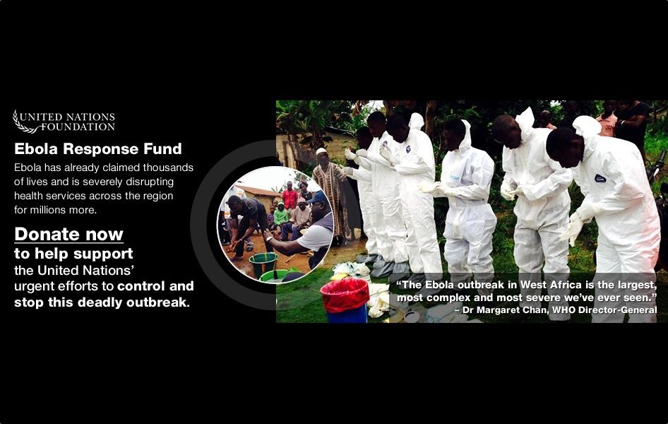 Urgent! Please Donate to Ebola Response Fund