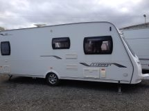 Lunar Clubman Se Fixed Bed Used Caravans North Wales