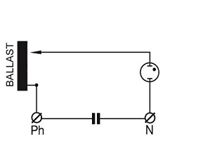 High Pressure Sodium Light Ballast Diagram HP Sodium