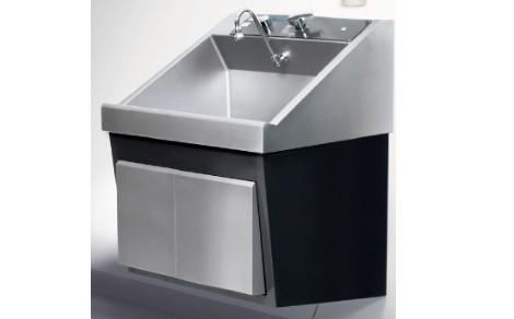 steris amsco flexmatic heavy duty single bay scrub sink refurbished