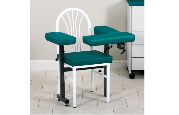 blood draw chair office chairs for back pain clinton md series drawing 64950 f venture medical