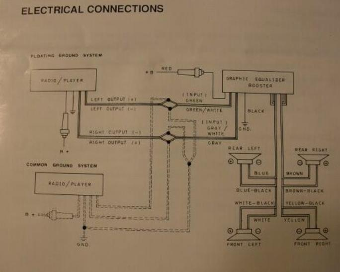 Clarion Equalizer Wiring Diagram